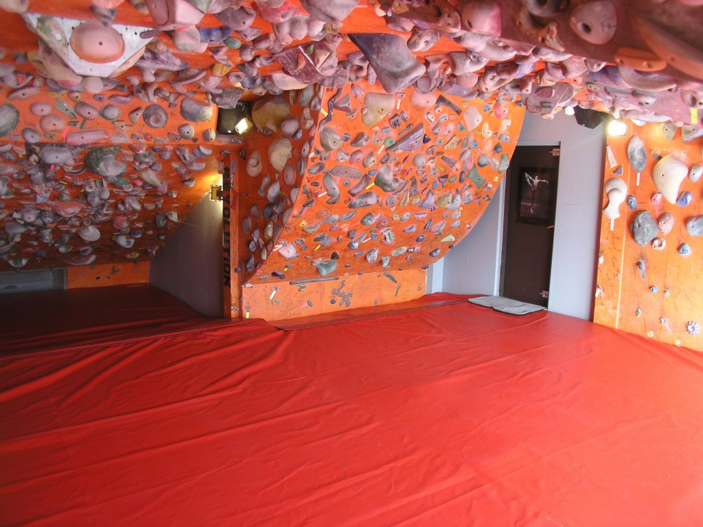 Climbing gym and wall flooring systems futurist