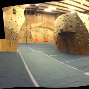 Carpet bouldering!